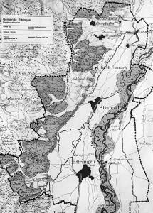 Flurkarte Siebnachs (1828)