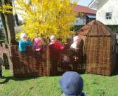 Spiel & Spaß in der neuen Rattan-Hütte!